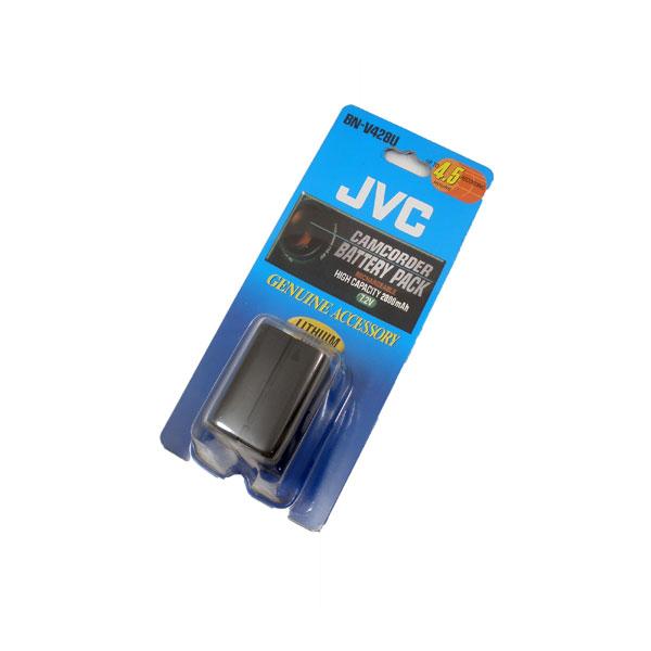 แบตเตอรี่ ยี่ห้อ JVC รหัสแบตเตอรี่ BN-V428 ความจุ 2800mAh รับประกัน 6 เดือน (Battery Camera)