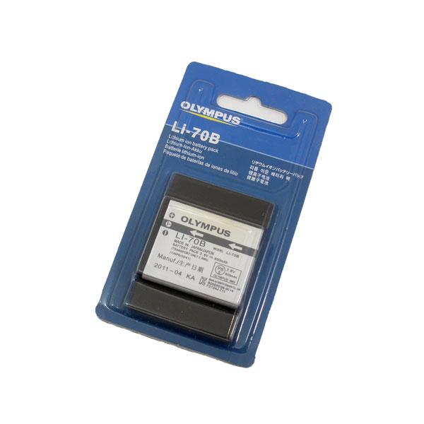 แบตเตอรี่กล้องดิจิตอล ยี่ห้อ Olympus รหัสแบตเตอรี่ LI-70B (Battery Camera)