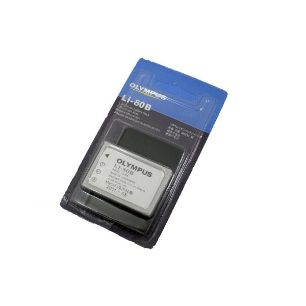 แบตเตอรี่กล้องดิจิตอล ยี่ห้อ Olympus รหัสแบตเตอรี่ LI-80B (Battery Camera)