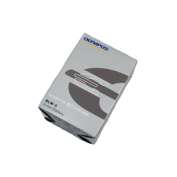 แบตเตอรี่กล้องดิจิตอล ยี่ห้อ Olympus รหัสแบตเตอรี่ BLM-5 ความจุ 1620mAh (Battery Camera)