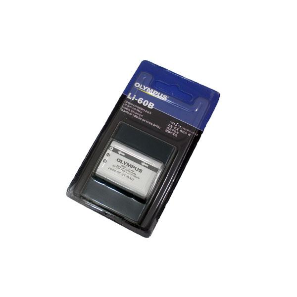 แบตเตอรี่กล้องดิจิตอล ยี่ห้อ Olympus รหัสแบตเตอรี่ LI-60B ความจุ 680mAh (Battery Camera)
