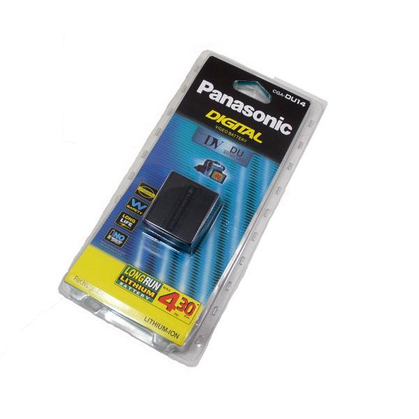 แบตเตอรี่ ยี่ห้อ Panasonic รหัสแบตเตอรี่ DU14 ความจุ 1360mAh (Battery Camera)
