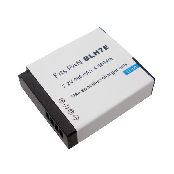 แบตเตอรี่ สำหรับกล้อง Panasonic รหัสแบตเตอรี่ BLH7 ความจุ 680mAh (Battery Camera)