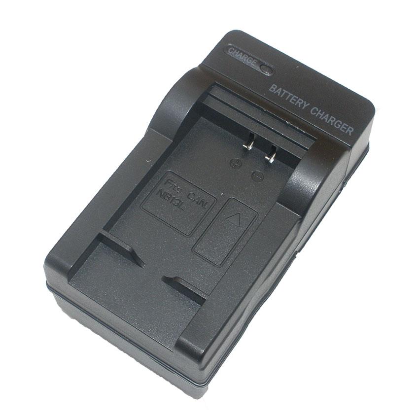 แท่นชาร์จแบตเตอรี่กล้อง Canon รหัส NB-13L ชาร์จไฟบ้าน+ฟรีสายชาร์จในรถยนต์ (Charger Battery)