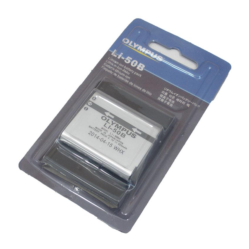 แบตเตอรี่ ยี่ห้อ Olympus รหัสแบตเตอรี่ LI-50B ความจุ 925mAh (Battery Camera)