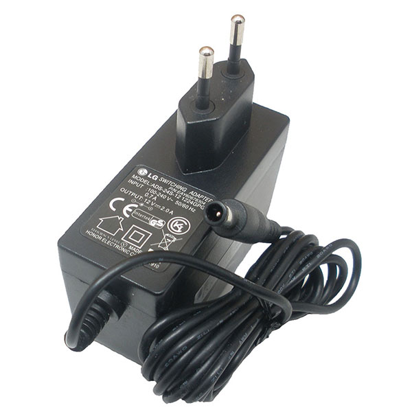 Adapter จอ LCD/LED = LG 12V/2A หัวเข็ม (6.5*4.4mm) ของแท้ รับประกัน 1 ปี