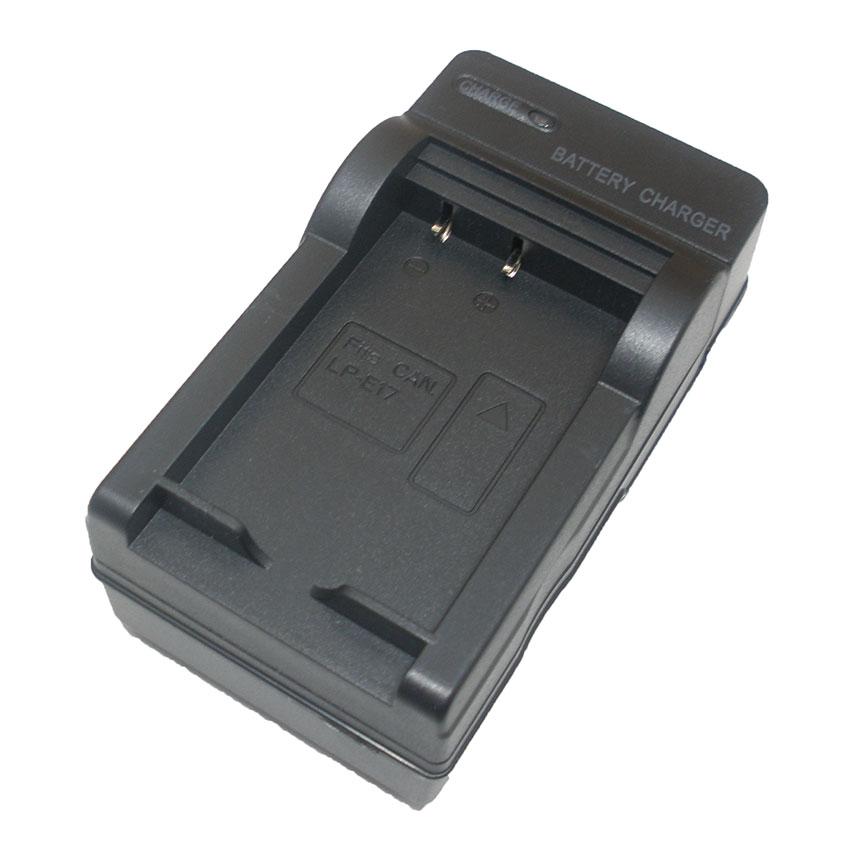 แท่นชาร์จแบตเตอรี่กล้อง Canon รหัส LP-E17 ชาร์จไฟบ้าน+ฟรีสายชาร์จในรถยนต์ (Charger Battery)