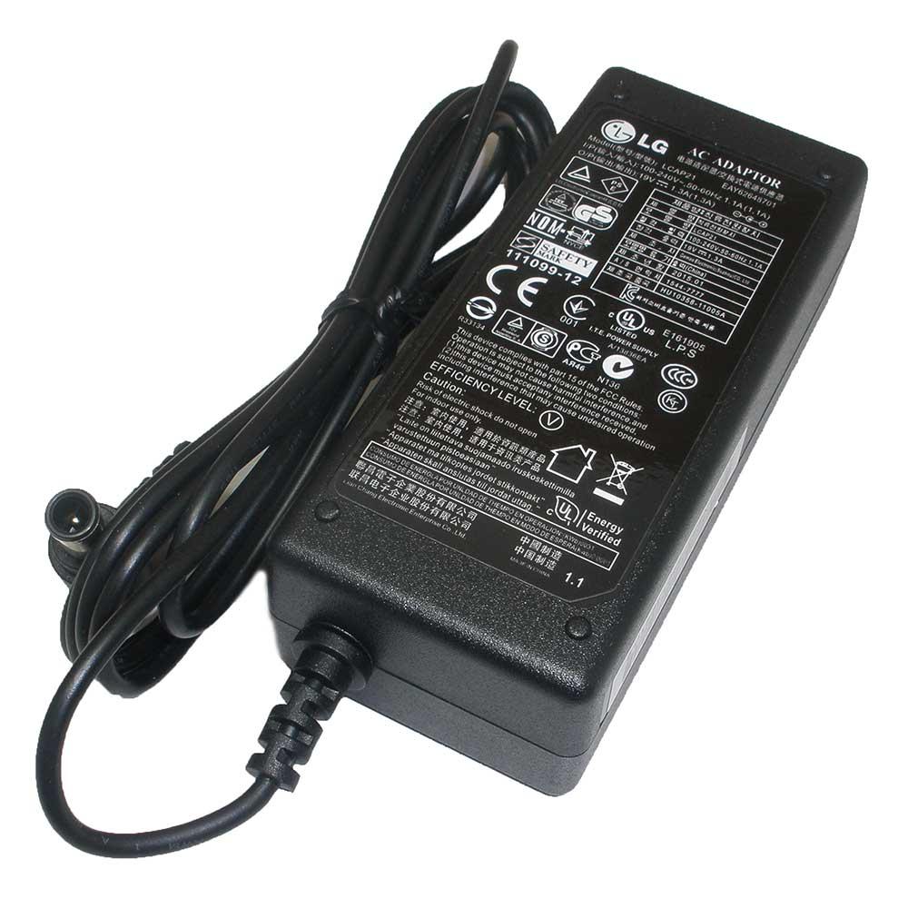 Adapter จอ LCD/LED = LG 19V/1.3A หัวเข็ม (6.5*4.4mm) ของแท้ รับประกัน 1 ปี