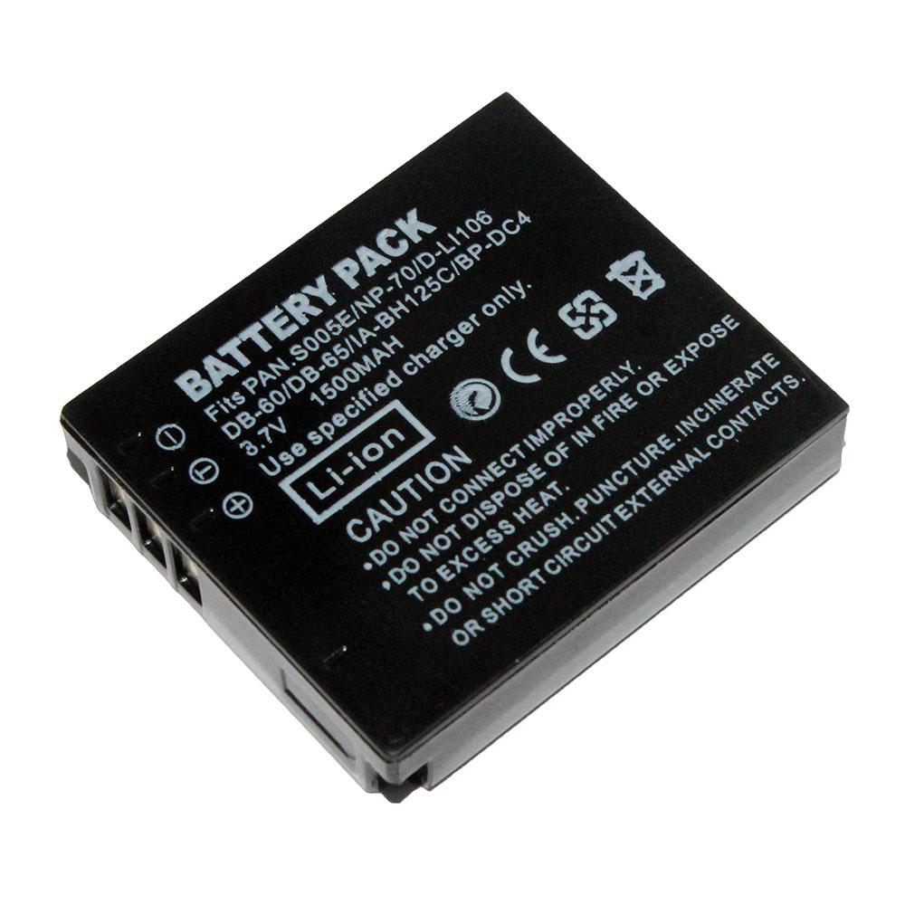 แบตเตอรี่ สำหรับ Ricoh รหัสแบตเตอรี่ DB60+ ความจุ 1500mAh (Battery Camera)