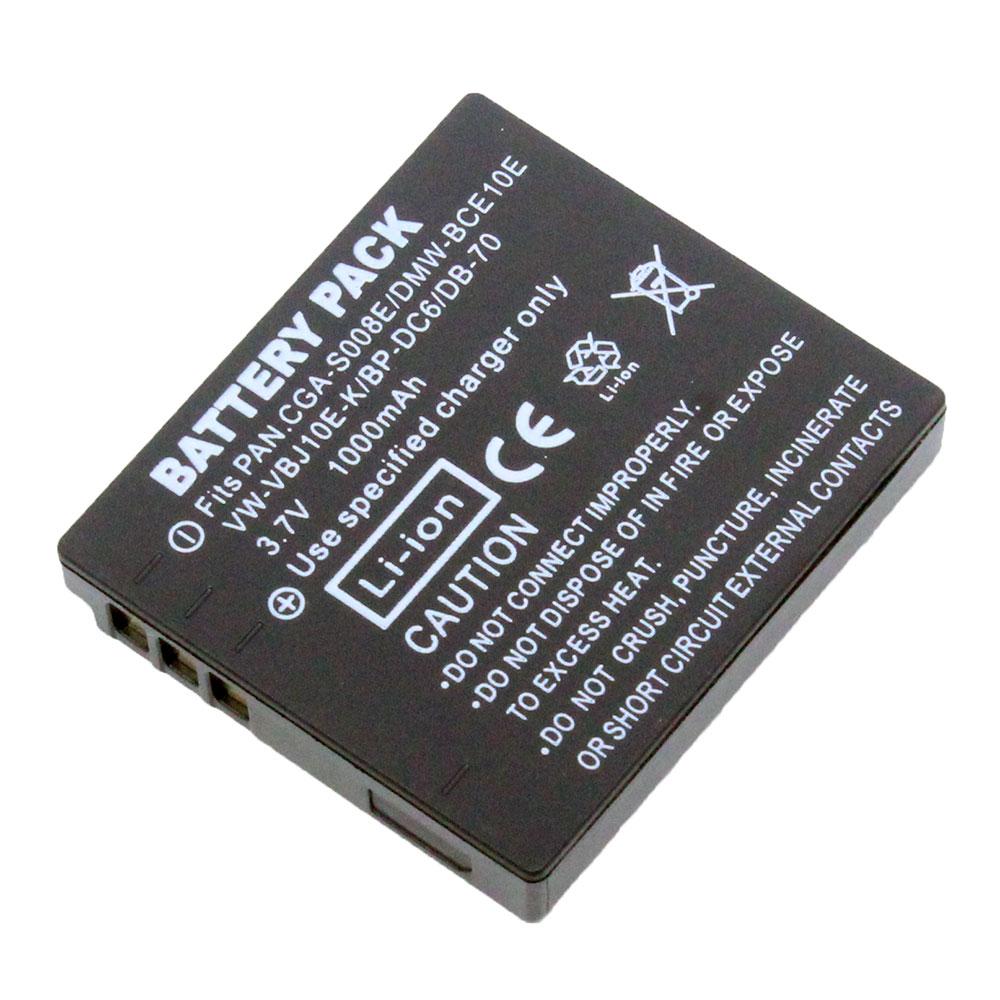 แบตเตอรี่ สำหรับ Ricoh รหัสแบตเตอรี่ DB70+ ความจุ 1000mAh (Battery Camera)
