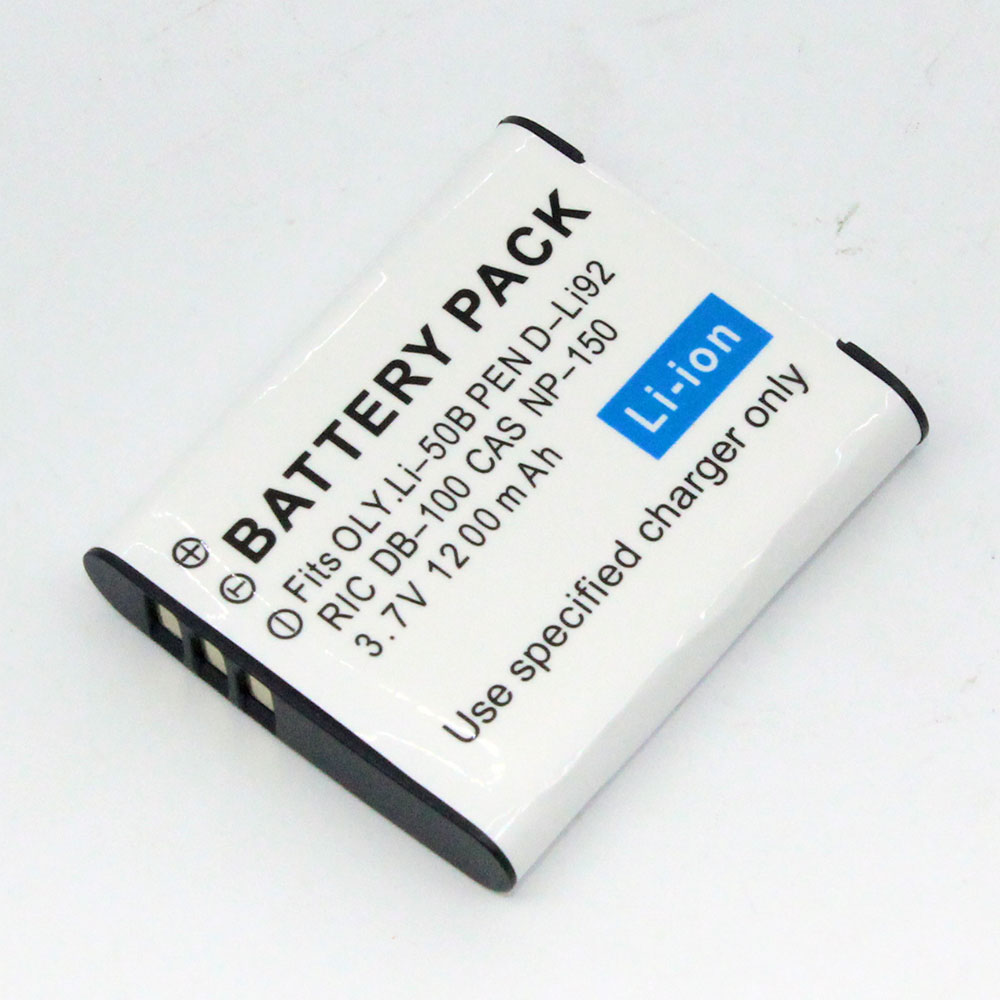 แบตเตอรี่ สำหรับ Ricoh รหัสแบตเตอรี่ DB100+ ความจุ 1200mAh (Battery Camera)