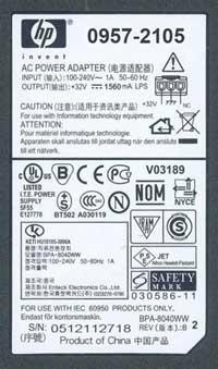 Adapter Printer / Scanner Output = 32V/1560mAh 3 รู ของแท้