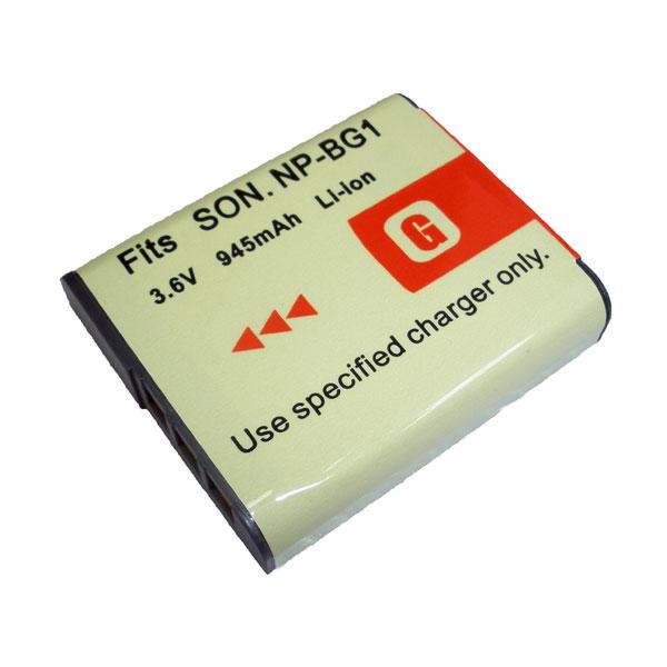 แบตเตอรี่ สำหรับกล้องดิจิตอล Sony รหัสแบตเตอรี่ NP-BG1 ความจุ 945mAh (Battery Camera)