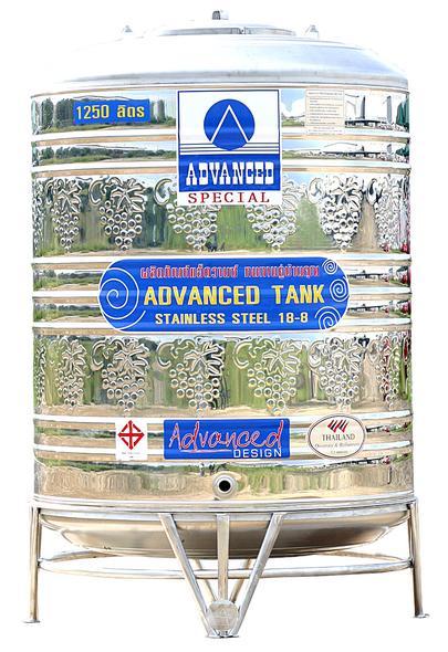 * แท๊งน้ำ * ADVANCED แอ๊ดว๊าน รุ่น AVL-850 ขนาด 850 ลิตร (มีลาย)