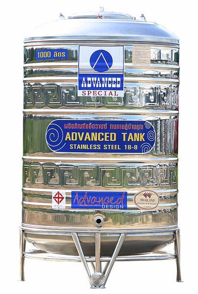 * แท๊งค์น้ำ ADVANCED แอ๊ดวานซ์ * รุ่น AVL-1000 ขนาด 1000 ลิตร (มีลาย)