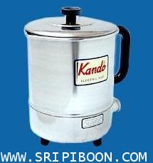กาไฟฟ้า gt; กาต้มน้ำร้อนไฟฟ้า KANDO เคนโด้ รุ่น K-150  ขนาด 1.50  ลิตร