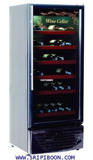 ตู้แช่  ตู้แช่ไวน์ MIRAGE มิลาจ รุ่น WN-72   บรรจุได้ 72 ขวด บริการจัดส่งถึงบ้าน.โทร.02-8050094-5