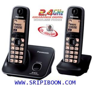 โทรศัพท์ไร้สาย PANASONIC พานาโซนิค รุ่น KX-TG 3712 BX