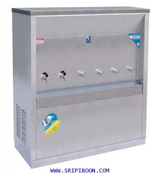 ตู้ทำน้ำเย็น-น้ำร้อน แบบ ต่อท่อประปา MAXCOOL แม็คคูล รุ่น MCH-6P (H2C4) (แบบแผงรังผึ้ง) E99XX