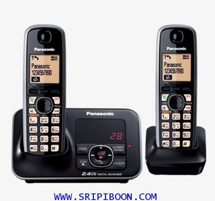 โทรศัพท์ไร้สาย PANASONIC พานาโซนิค รุ่น KX-TG3722BX