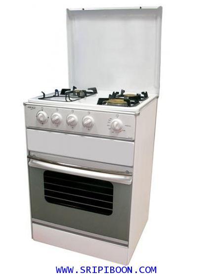 เตาอบแก๊ส, ตู้อบแก๊ส + เตาแก๊ส  MIRAGE มิลาจ GV 63WN ชนิด 3 หัวเตา สอบถามราคา.โทร.02-8050094-5