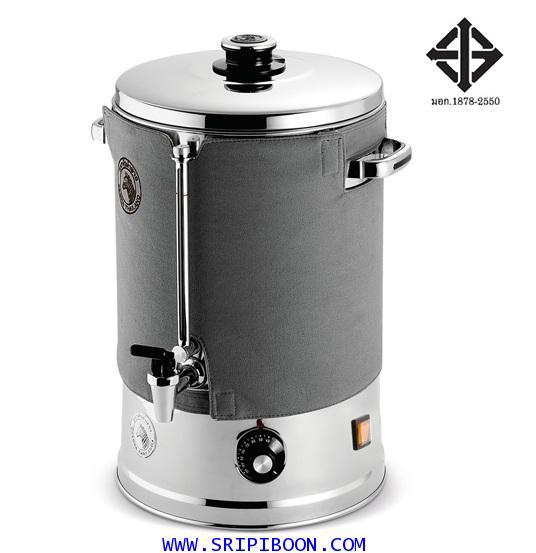 ถังต้มน้ำร้อนไฟฟ้า ขนาด 22.5 ลิตร (30 ซม.) ZEBRA ตราหัวม้าลาย AdvanceIII   จัดส่งด่วน!.ฟรี