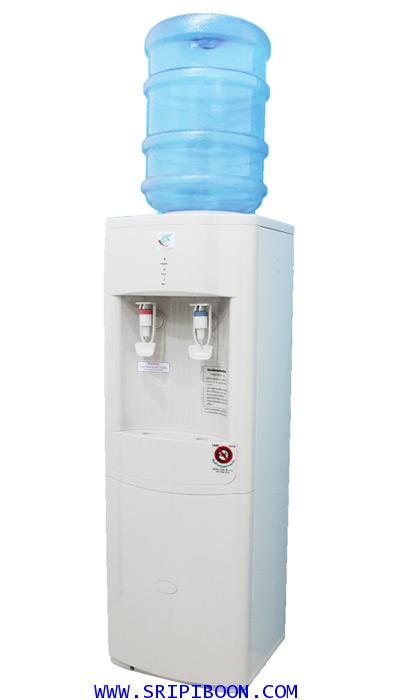 เครื่องทำน้ำเย็น - น้ำร้อน PURAMUN  เพียวละมุน รุ่น TSHC -110 ถังคว่ำ