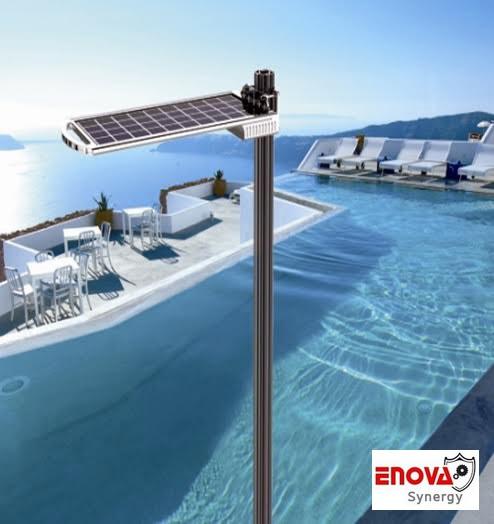 โคมไฟพลังแสงอาทิตย์ ENOVA อีโนว่า รุ่น SG- 3 (5V- 15W) ระยะความสูง 3-5 เมตร