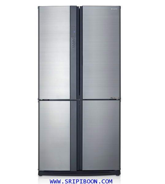 ตู้เย็น SHARP ชาร์ป รุ่น SJ-FX74T-SL ขนาด 20.5 คิว บริการส่งถึงบ้าน!.