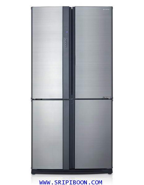 ตู้เย็น SHARP ชาร์ป รุ่น SJ-FX79T-SL ขนาด 22.3 คิว บริการส่งถึงบ้าน!.