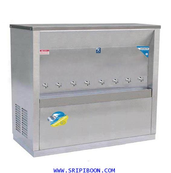 ตู้ทำน้ำเย็น  แบบ ต่อท่อประปา MAXCOOL แม็คคูล รุ่น MC-8P  (ระบายความร้อนแบบแผงรังผึ้ง) IE9XX