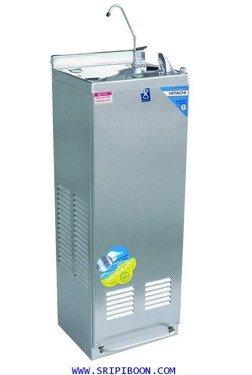 ตู้ทำน้ำเย็น ต่อท่อน้ำ MAXCOOL แม็คคูล MC-6F แบบน้ำพุ มือกด,เท้าเหยียบ มีงวง AOOXX