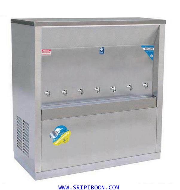 ตู้ทำน้ำเย็น  แบบ ต่อท่อประปา MAXCOOL แม็คคูล รุ่น MC-7P ระบายความร้อนแบบแผงรังผึ้ง EUUXX