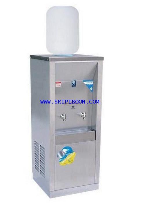 ตู้ทำน้ำเย็น  MAXCOOL แม็คคูล รุ่น MC-2P_SP  ถังคว่ำ 2 ก๊อก 1 ถัง (แผงรังผึ้ง) AI9XX