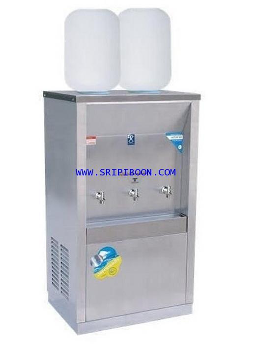 ตู้ทำน้ำเย็น MAXCOOL แม็คคูล รุ่น MC-3P_SP ถังคว่ำ 3 ก๊อก 2 ถัง (แผงรังผึ้ง) A69XX
