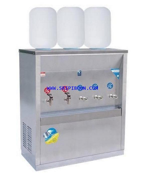 ตู้ทำน้ำเย็น-น้ำร้อน MAXCOOL แม็คคูล MCH-5P_SP ถังคว่ำ 5 ก๊อก (ร้อน2 เย็น3) 3 ถัง (แผงรังผึ้ง) IX6XX