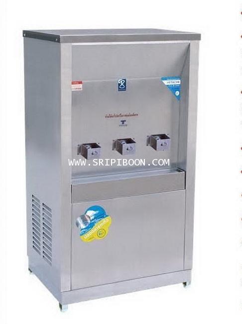 ตู้น้ำเย็น แบบ ต่อท่อประปา MAXCOOL แม็คคูล รุ่น MC-3P  3 หัว (ก๊อกพิเศษ) แบบแผงรังผึ้ง A66XX