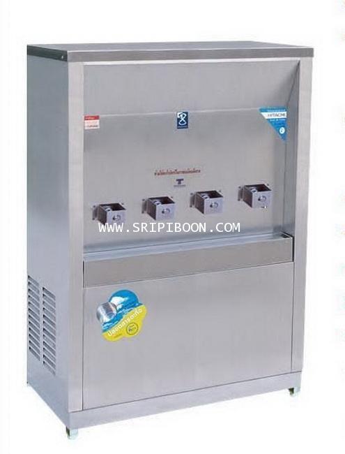 ตู้ทำน้ำเย็น MAXCOOL แม็คคูล รุ่น MC-4P ต่อท่อประปา (ก๊อกพิเศษ) 4 หัว แบบแผงรังผึ้ง A79XX