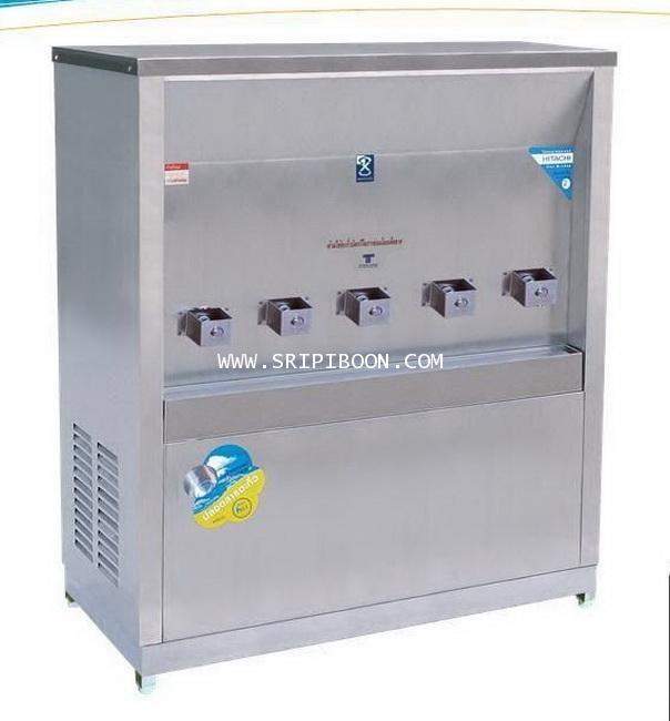 ตู้น้ำเย็น  แบบ ต่อท่อประปา MAXCOOL แม็คคูล รุ่น MC-5P 5 หัว (ก๊อกพิเศษ) แบบแผงรังผึ้ง EIXXX