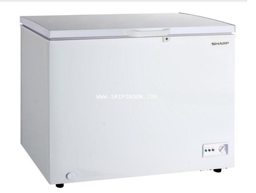 ตู้แช่แข็ง SHARP ชาร์ป รุ่น SJ-CX300T-W ขนาด 10 คิว บริการจัดส่งถึงบ้าน!.ฟรี สอบถามโทร. 02-8050094-5