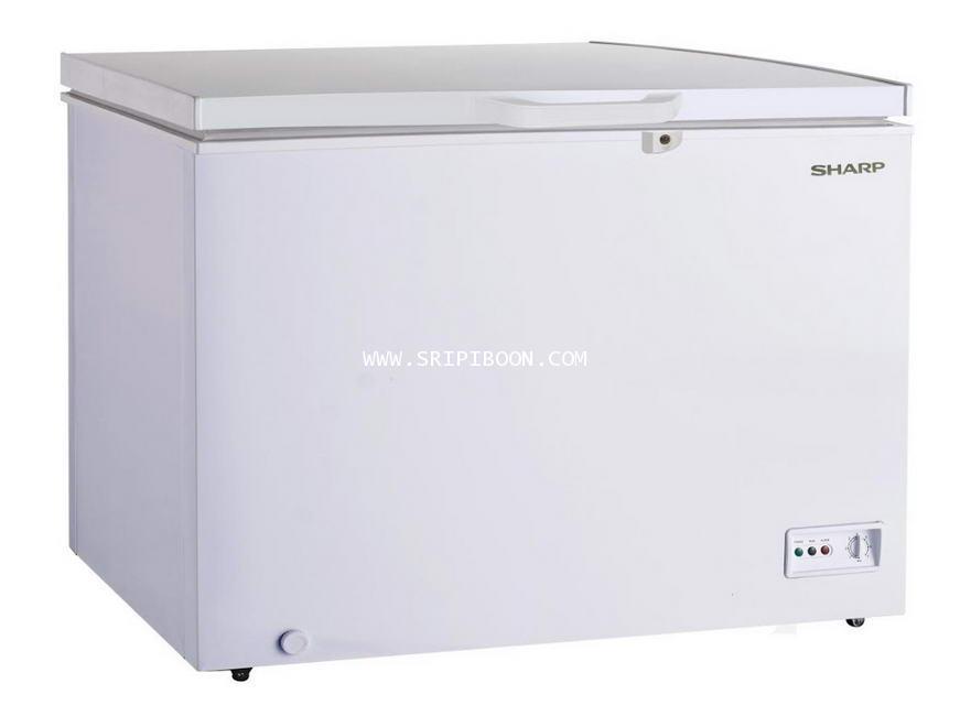 ตู้แช่แข็ง SHARP ชาร์ป รุ่น SJ-CX450T-W ขนาด 15.4 คิว บริการจัดส่งถึงบ้าน!.ฟรี สอบถามโทร 02-8050094