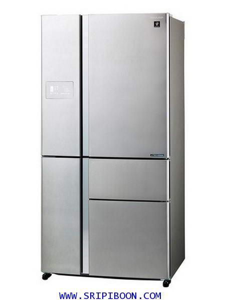 ตู้เย็น SHARP ชาร์ป 5 ประตู รุ่น SJ-FX850TP2-SL ขนาด 24.4 คิว บริการส่งถึงบ้าน!.