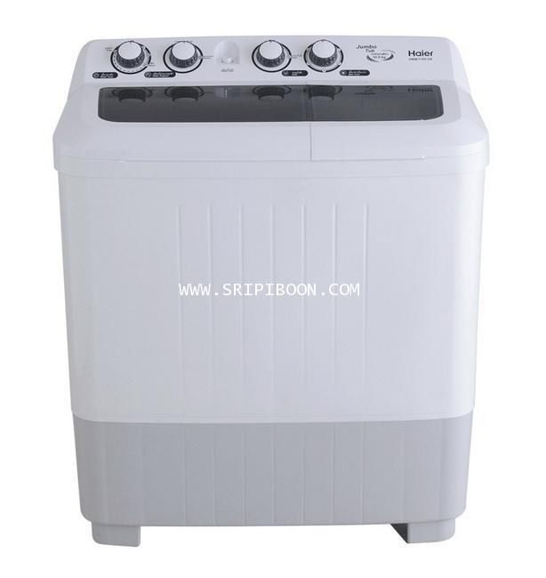 เครื่องซักผ้า HAIER ไฮเออร์ รุ่น  HWM-T100 OX ขนาด 10.0 ก.ก.. ถังปั่น 6.5 ก.ก.