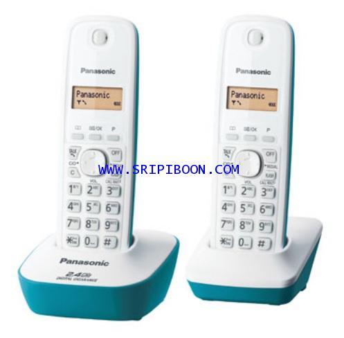 โทรศัพท์ PANASONIC พานาโซนิค KX-TG3412BX (ชุดละ 2 เครื่อง)