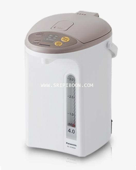 กระติกน้ำร้อน PANASONIC พานาโซนิค NC-EG4000 ขนาด 4 ลิตร (เคลือบสารคาร์บอนชาร์โคลภายใน)