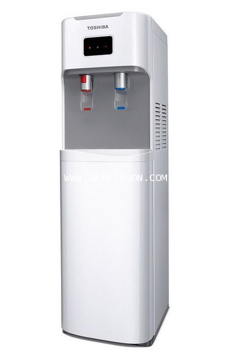 เครื่องทำน้ำเย็น - น้ำร้อน TOSHIBA โตชิบ้า รุ่น RWF-W1669BK(W)