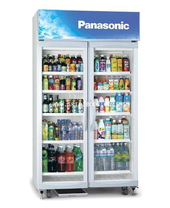ตู้แช่เครื่องดื่ม 2 ประตู รุ่น SBC-P2DSA PANASONIC พานาโซนิค ขนาด 26.2 คิว บริการจัดส่งถึงบ้าน!.ฟรี