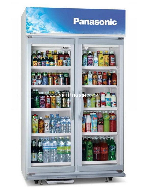 ตู้แช่เย็น 2 ประตู รุ่น SBC-P2DBA PANASONIC พานาโซนิค ขนาด 34.9 คิว บริการจัดส่งถึงบ้าน!.ฟรี