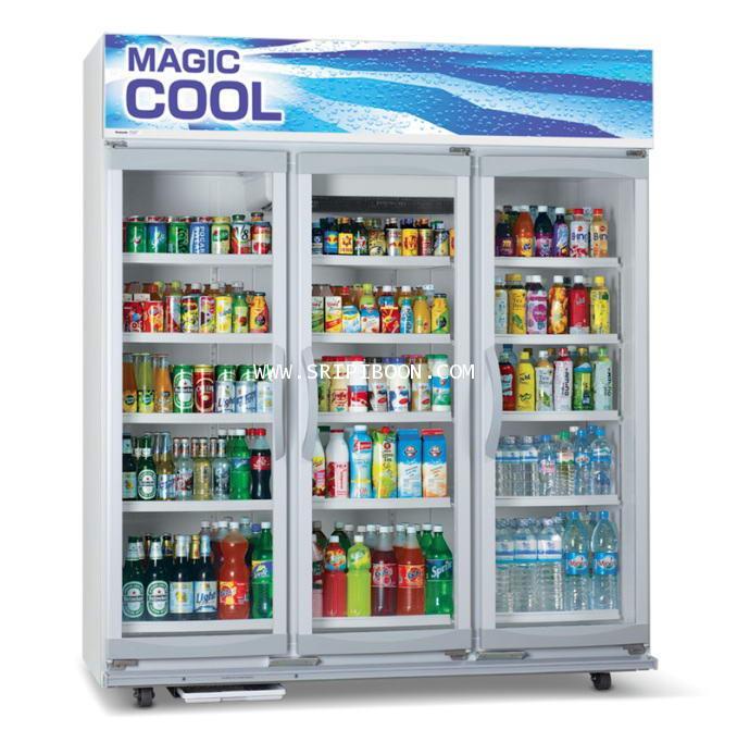 ตู้แช่เย็น 3 ประตู รุ่น SBC-P3DB PANASONIC พานาโซนิค ขนาด 54.6 คิว บริการจัดส่งถึงบ้าน!.ฟรี