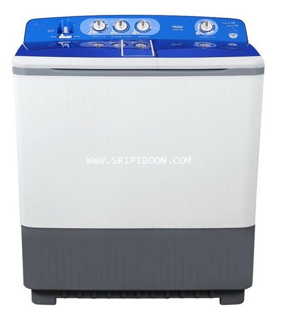 เครื่องซักผ้า HAIER ไฮเออร์ รุ่น  HWM-T130N ขนาด 13 ก.ก. ถังปั่น 10 ก.ก.